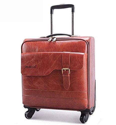 PINCHU Cabin Laptop Gepäck 4 Räder Business Trolley Computer Aktentasche weitermachen Roller Fällen