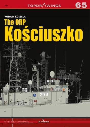 The Guided-Missile Frigate Orp Kościuszko (Top Drawings) por Witold Koszela