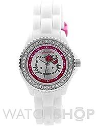 Hello Kitty Kinder-Armbanduhr Analog Kunststoff weiß HK018