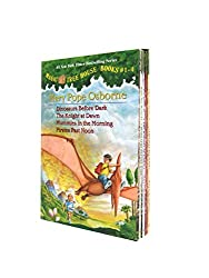 Magic Tree House #1-4 (Magic Tree House Collection)