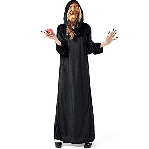 Klassische Hexe Für Erwachsene Damen Kostüm - CYYMY Damen Hexe Kostüm Erwachsene Unisex