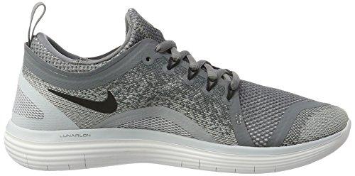 Nike Women's Free Rn Distance 2 Running, Scarpe Sportive Indoor Donna Grigio (Cool Grey/black/wolf Grey/stealth)