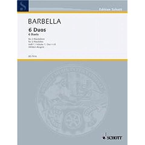 Barbella: Sechs Duos Vol. 1 Nr. 1-3