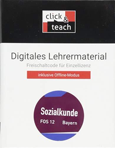 Buchners Sozialkunde Berufliche Oberschule Bayern / Sozialkunde FOS click & teach 12 Box: Digitales Lehrermaterial (Karte mit Freischaltcode)