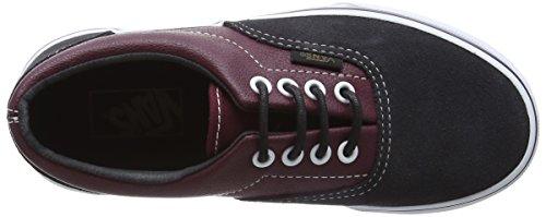 Vans Era, Baskets Basses Mixte Enfant Multicolore((Suede & Leather) Port Royale/Asphalt)