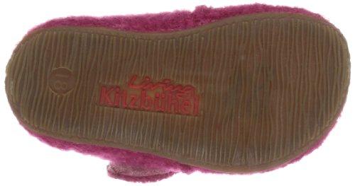 Living Kitzbühel Babyklett. Froschkönig, chaussons d'intérieur fille Rose - Pink (magenta 360)