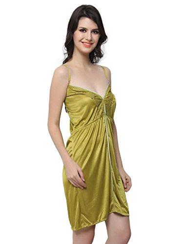 Clovia - Chemise de nuit - Femme Vert - Vert