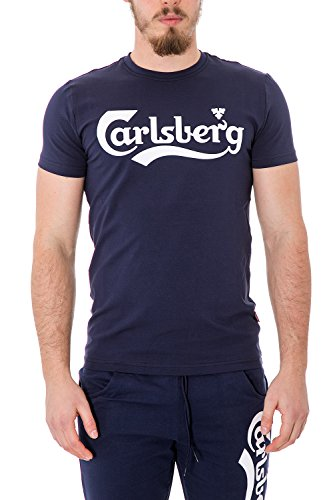 carlsberg-t-shirt-uomo-stampata-regular-fit-cbu2501-m-blu