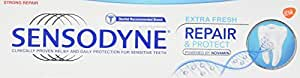 Sensodyne Sensitive Repair and Protect Toothpaste, 75 ml, Extra Fresh- pack of 3