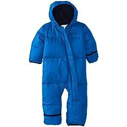 Columbia Snuggly Bunny Mono de esquí Infantil, Bebé-Niños, Azul (Super Blue/Collegiate Navy Heather 446), 18-24m