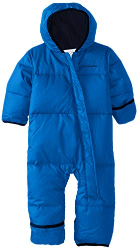 Columbia Schneeanzug für Kinder, SNUGGLY BUNNY BUNTING, Polyester, Blau (Super blue/Collegiate navy), Gr. 18/24 Monate, 1516331