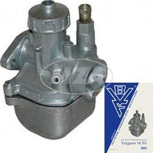 MZA Meyer-Zweiradtechnik 13148-00S Vergaser 16N1-12 - Hauptdüse: 67 - KR51/2 (2 Vergaser)