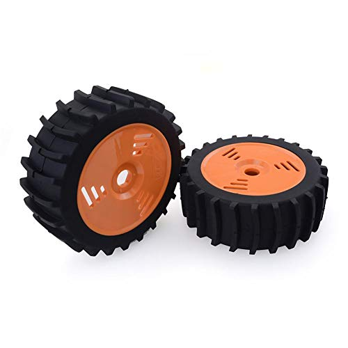 mollylover Reifen für 1/8 RC Buggy Off Road 4 Stück 1/8 RC Buggy Off Road Schneesand Paddel Reifen (Felgen Paddel-reifen Und)