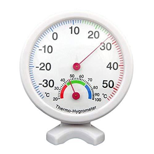 SODIALR Higrometro Termometro Medidor de Humedad Temperatura Interior Exterior - Azul
