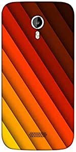 Snoogg rotate pattern 2434 Designer Protective Back Case Cover For Micromax A116