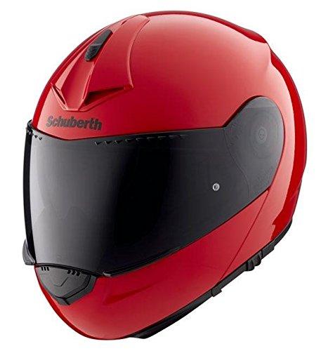Preisvergleich Produktbild Motorrad-Helm Schuberth C3-Pro Racing Rot Med 56 / 57