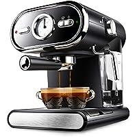 YSCCSY Máquina De Espresso Semi-Automática Tipo De Vapor 20Bar Máquina De Café Inicio Visualización