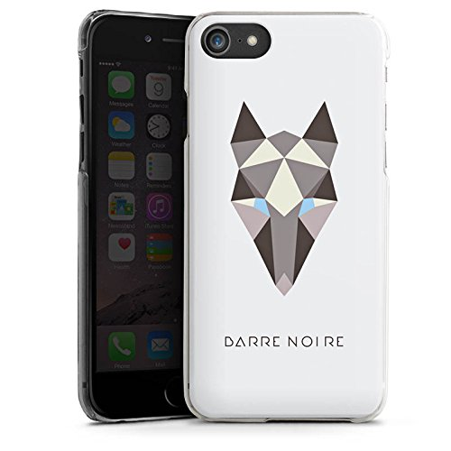 Apple iPhone X Silikon Hülle Case Schutzhülle Fuchs Muster Fox Hard Case transparent