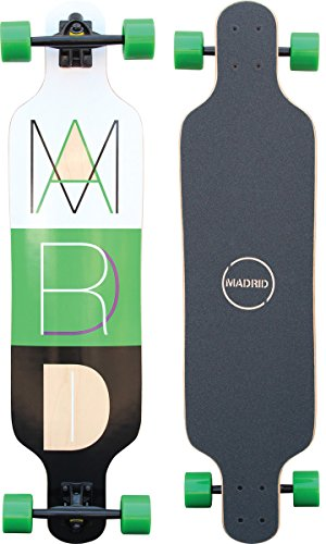 "Madrid Trance 39"" Top-Mount Cutout 2 Longboard, One Size"