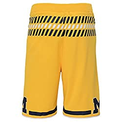 University Of Michigan Wolverines Youth Yellow Replica Shorts (Youth Small)