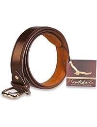 Hawkdale - Herren Ledergürtel - 30 mm breit - # 814-400 - Braun - 5XL