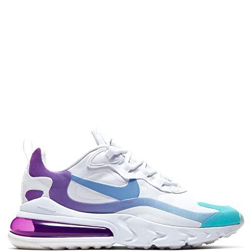 Sneaker Nike Zapatillas Deportivas de Mujer NIKE Air MAX 270 React en Tela Blanca AT6174-102
