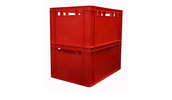 Metzger scatole scatole da macellaio macelleria kisten Rosso E3/Gast Lando