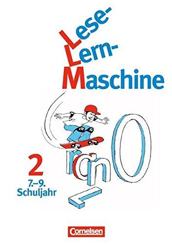 Lese-Lern-Maschine / Band 2: 7.-9. Schuljahr - Arbeitsheft, 2. Auflage