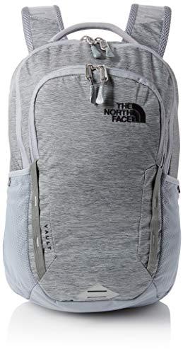THE NORTH FACE Vault Rucksack Mid Grey Dark Heather/TNF Black, One Size Face Tasche