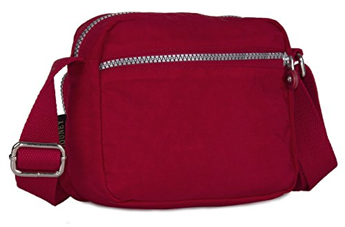 Big Handbag Shop, Borsa a tracolla donna Taglia unica Black