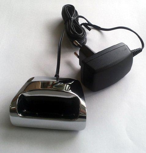 Gigaset SL910H / SL910 H Charger / Ladeschale silber für SL910 / SL910A