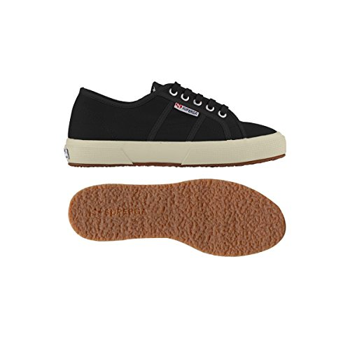 Superga 2750- Plus Cobinu, Baskets Basses femme Black