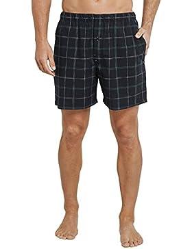 Schiesser Long Boxer, Pantalones de Pijama para Hombre