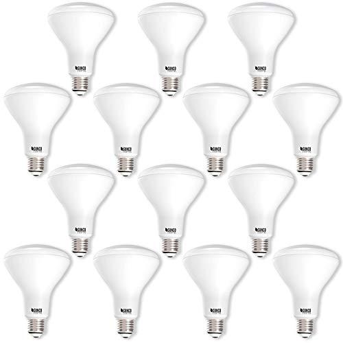 Flutlicht Br30 Glühbirne (Sunco 14Pack-BR30LED 11Watt (65W ähnlich), dimmbar, für Innen-/Außenbereich Beleuchtung, 850Lumen, Flutlicht Glühbirne, UL Listed, 3000k - Warm White, E26, 11.00 wattsW 120.00 voltsV)