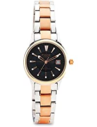 FOCE Analog Black Dial Women's Classic - Formal Slim Watch - F725SPN-BLACK