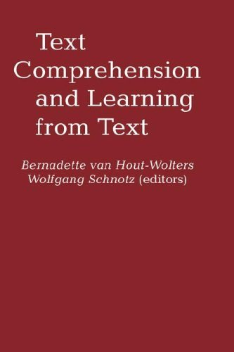 Text Comprehension And Learning by Bernadette Van Hout-Wolters (1992-01-01)