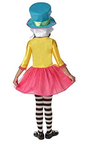 Imagen de rubie 's oficial para niña de disney alicia en el país de las maravillas mad hatter disfraz–grande–7–8años alternativa