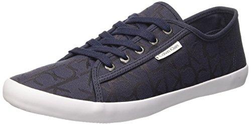Calvin Klein Jeans Fallon, Baskets Basses Homme Bleu (Blu)