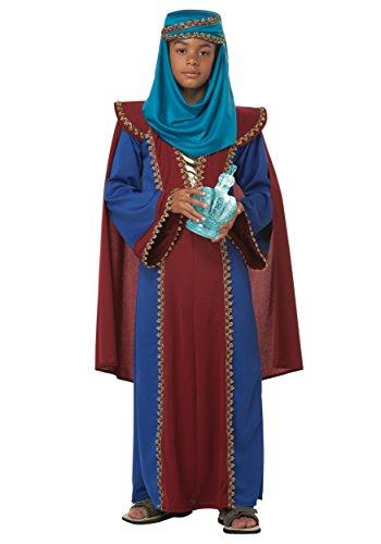 Für Kostüme Heiligen Erwachsene (California Fancy Dress Kostüm Jungen Jungen Drei Weisen Balthasar von Arabien)
