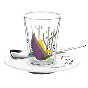 Ritzenhoff 2600002 Espressoglas mit Untertasse Chiera F11 ...