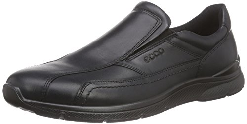 Ecco Herren Irving Slipper, Schwarz (2001black), 47 EU