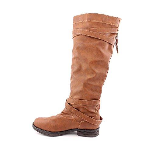 Madden Girl Zerge Boot Cognac