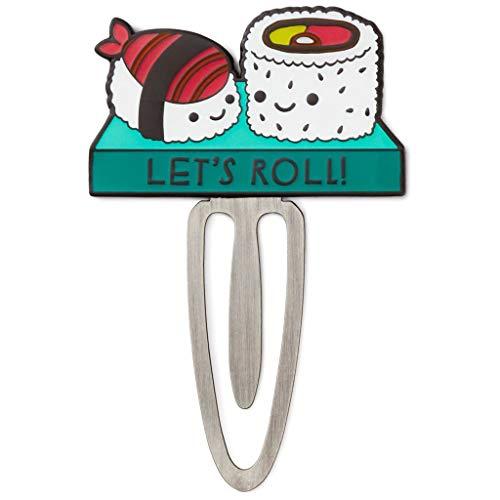Sushi Lesezeichen aus Metall und Emaille (Sushi-lesezeichen)