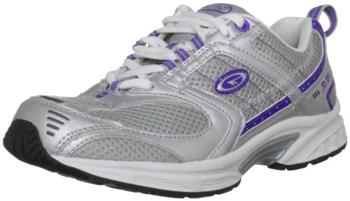 Hi-Tec - Sneaker A001578/014/01 Donna, Bianco (White/Silver/Purple), 37