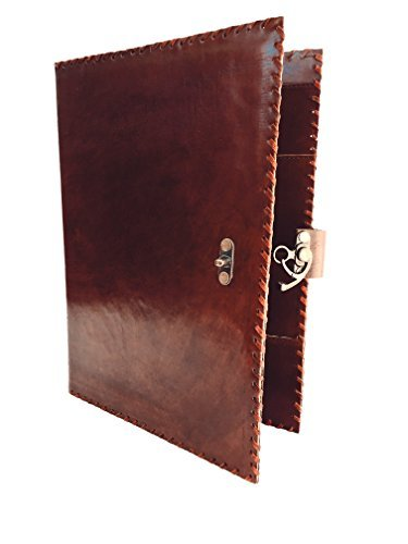 blf-vintage-handmade-leather-portfolio-resume-pad-folio-cover-file-folder-professional-business-orga