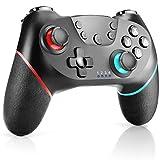CHEREEKI Controller für Nintendo Switch, Wireless Gamepad Joystick für Switch mit Dual Shock...