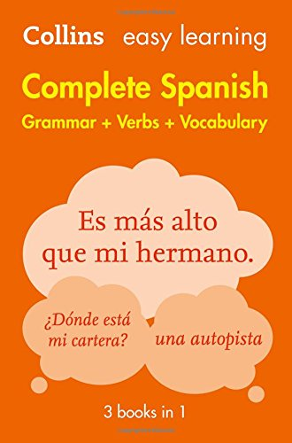 Easy Learning Spanish Complete Grammar, Verbs and Vocabulary (3 books in 1) (Collins Easy Learning Spanish) Test