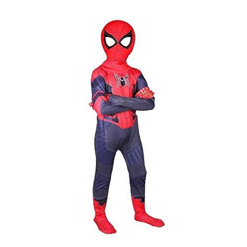 LDH Cartoon-Kleidung-Kostüm Filmrequisiten dreidimensionaler Effekt Hochwertige Materialien Wassertemperatur Hohe Elastizität Klare Farben (Color : Blue Red, Size : 150CM Height) (Spider Mann Playstation 1 Kostüm)