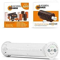 Preisvergleich für Blackroll Orange (Das Original) Booster, der Vibrationskern für 30 cm Faszienrollen inkl. Übungsbooklets, ideal zum Faszientraining für Bauch Beine Po, Nacken, Rücken, Schulter, Arme und Beine