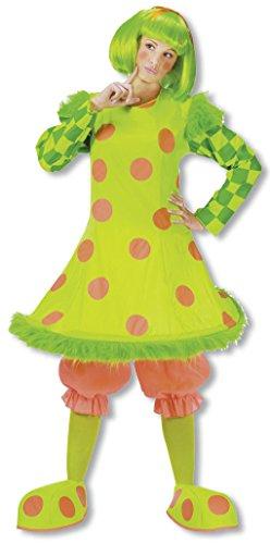 r Clown Kostüm für Damen an Fasching & Karneval (Clown Lolli Kostüme)
